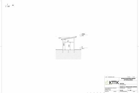 KTTK_-_Attefallshus_-_Sektionsritning