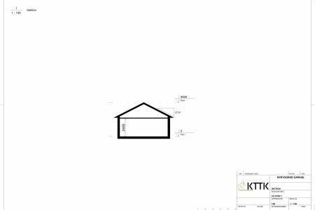 KTTK_-_Garage_-_Sektionsritning