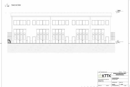 KTTK_-_Industrihall_-_Fasadritning_Söder