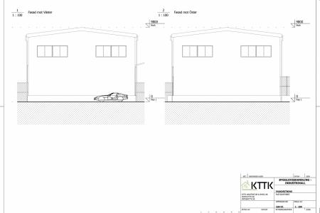 KTTK_-_Industrihall_-_Fasadritning_Väster-Öster