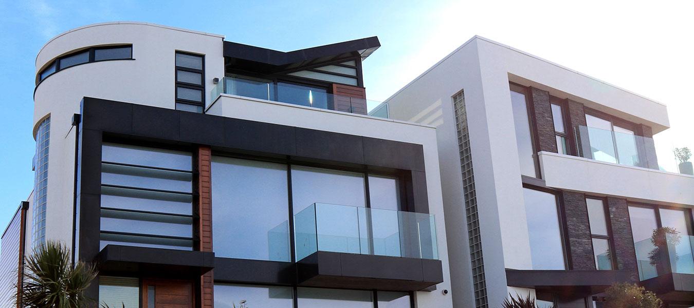 Arkitektritat hus.
