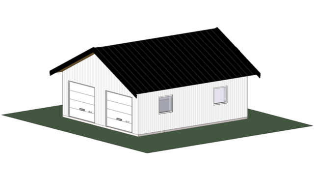 Bygglovsritningar - Garage