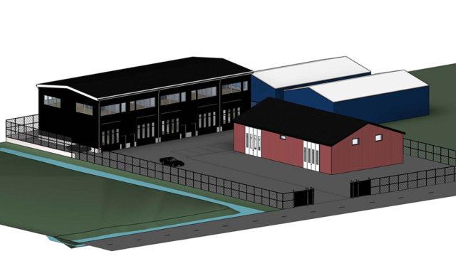 Bygglovsritningar - Industrihall