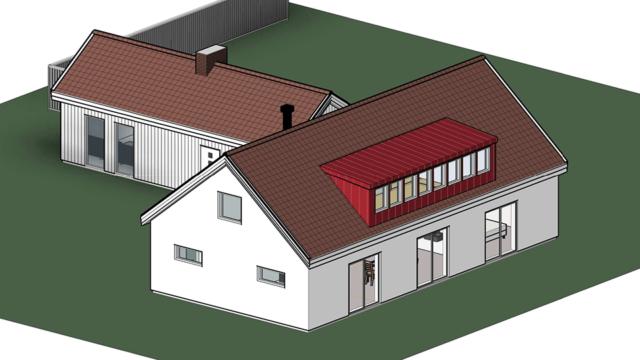 Bygglovsritningar - Ombyggnation Villa