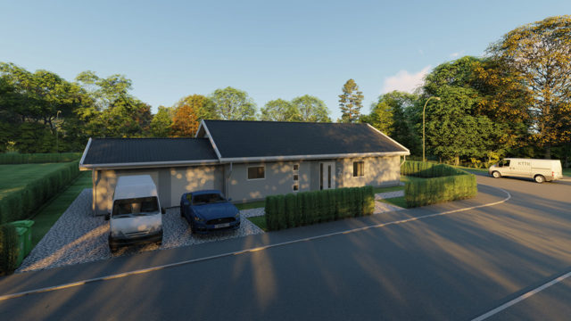 3D-Visualisering - Villa